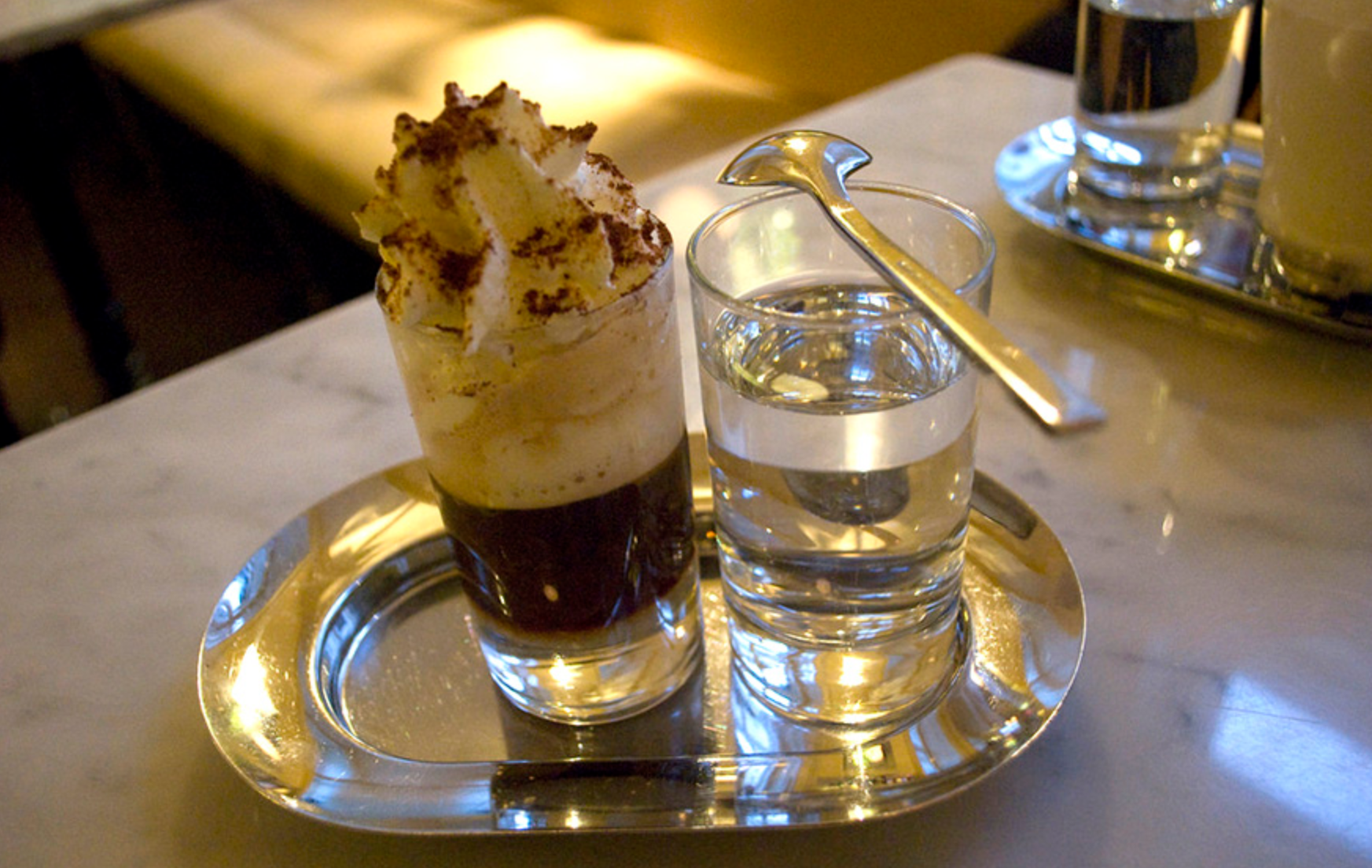"""""""Pharisee"""" (German coffee with rum)"""